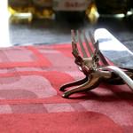 ビストロ  フチューラ フルール - シカのナイフレスト