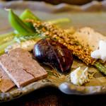 徳山鮓 - 前菜