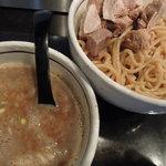 麺商つけ麺 志堂 - 【つけ麺 + 肉盛(ハーフ)】