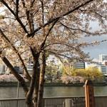てつ鍋 カツを - 大川の桜