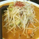 ラーメン丸徳 - 辛子味噌タンメン