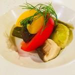 ルーチェカフェ - 料理写真:季節野菜のピクルス