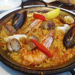 ラ ボデガ - 魚介のパエリヤ