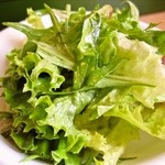 トータス - コンフィにつく「サラダ」