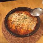 大衆イタリアン かね子 - 餃子ラザニア