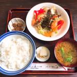 味乃家 - 料理写真:野菜炒め定食