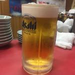 丸吉飯店 - 生ビール…ウーロンハイがあれば…
