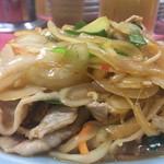 丸吉飯店 - 肉もたっぷり