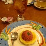 卵と私 - セットのデザート&ドリンク