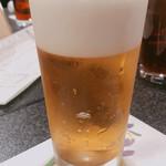 すしざんまい 奥の院 - 生ビール 600円