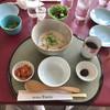 サンロイヤルゴルフクラブ - 料理写真:●魚介類と野菜の韓国粥650円税込