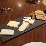 ブルーノート東京 - チーズの盛合せ