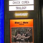 ブルーノート東京 - CHICK COREA TRILOGY   featuring CHRISTIAN McBRIDE and BRIAN BLADE