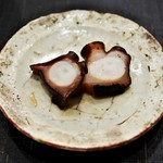 あま木 - 蛸の塩ゆで(日間賀島産)