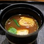 あま木 - 赤だし(焼湯葉入り)