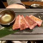 大衆焼肉 味樹園 - 厚切りタン ¥690