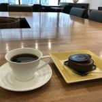コンパルティール ヴァロール - 今回は、タルトショコラとコーヒーです(2019.4.9)