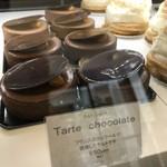 コンパルティール ヴァロール - タルトショコラが並びます(2019.4.9)