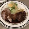 ハーベスト - 料理写真:本日の盛り合わせ  ミックスグリル(豚ひれ肉・チキン・ミニハンバーグ) 890円
