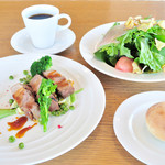 Healthy Cafe SANTE - 料理写真:ランチメニューセット※写真はイメージです