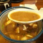 拉麺Shin. - トロみのある付け汁