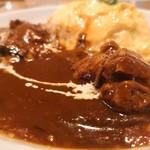 TriBeCa - 料理写真:たんぽぽふわふわオムライス