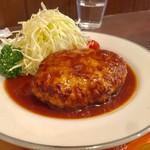 三福亭 - ハンバーグ 定食 S(180g) 900円