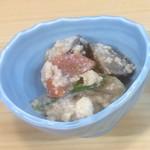 魚のてっちゃ - 根菜の白和え
