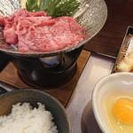 和風厨房 りゅう扇 - すき焼き午前