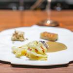 リョウリヤ ステファン パンテル - 桜鯛と蕗の薹