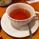 10535786 - セットドリンクの日替わり紅茶(ライチ、300円)