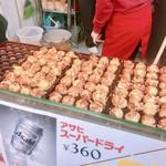 たこ焼十八番 - 天かすのカリッと感が満載で美味しいよ!!