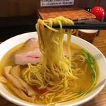 麺屋 誠 - 大人気なく麺リフト&ネギ抜き