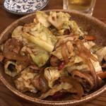 酔い喰い処 みずほ - 豚肉とキャベツの味噌炒め