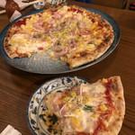 酔い喰い処 みずほ - ミックスピザ