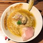 中華そば鷸 - ●牡蠣ラーメン