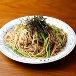 雨ニモマケズ - 蕎麦パスタ(和風・辛口和風・ペペロンチーノ味)