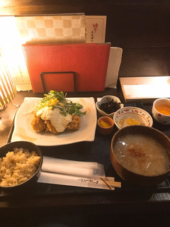 海遊山楽 ゆう - タルタル御膳。 これで880円!