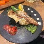 夜景×チーズ肉バル GARDEN - (2019.04)白身魚のムニエル