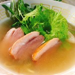 中華そば とりのほね - 料理写真:鴨塩そば