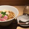 鶏そば 山もと - 料理写真:鶏ソバ 醤油@800  ソバとラーメンの間な感じ