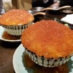 Mainichihokkaidoubussantenneorobatadounannourinsuisambu - いくらこぼれ飯 久しぶりにイクラ❤️モリモリ食べました