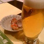 10536784 - 生ビールとお通し