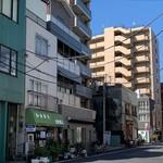 食堂 うえき - facade