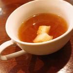 ニコニコ キッチン さんさん - セットのオニオンスープ