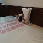 スコット 旧館 - テーブルの卓上