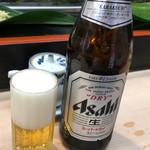 日乃出寿し - ドリンク写真:スーパードライ中瓶