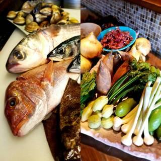 ☆旬の魚介類☆新鮮な野菜☆季節の料理☆