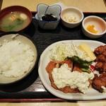 Otokohatsurai - 鶏から南蛮定食 780円(19年4月)