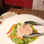 105372227 - 紅ズワイガニのサラダ(680円)